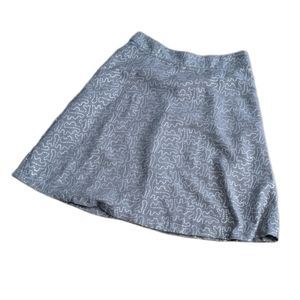 Downeast Basics Silver Sequin Aline Thick Skirt